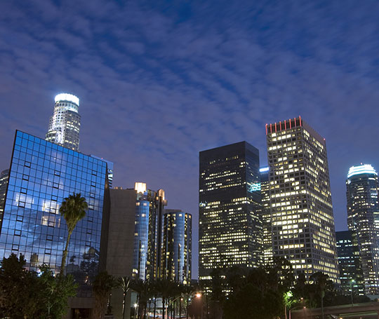 Night on the Town in Los Angeles